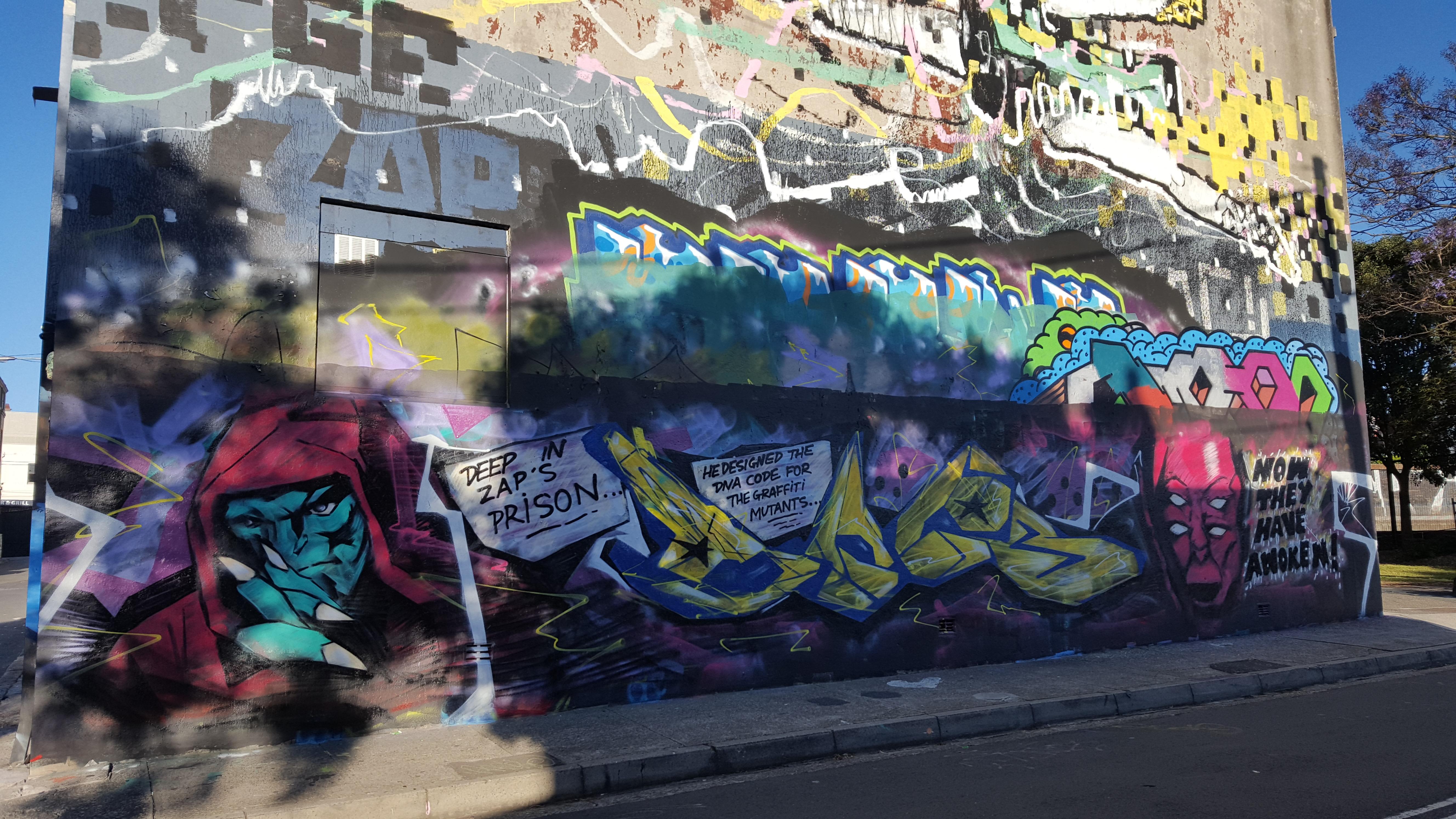 Street Art, The Hub, Newtown