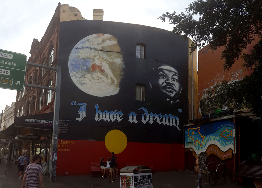 I Have a Dream by Juilee Pryor art mural