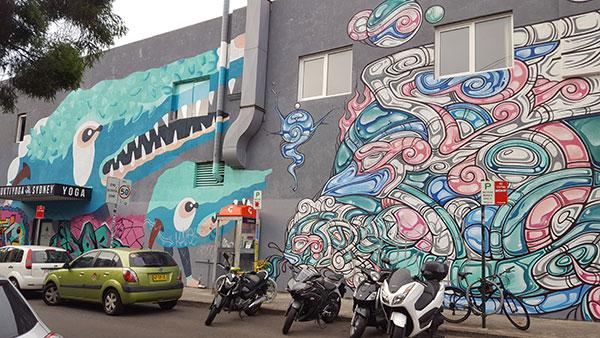 Holt Street Mural