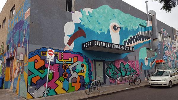 Mural Holt Street Newtown Art